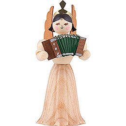 Angel with Accordion  -  7cm / 2.8 inch