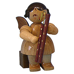 Angel with Bassoon  -  Natural Colors  -  Sitting  -  5cm / 2 inch