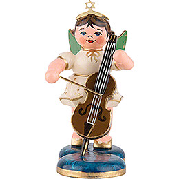 Angel with Cello  -  6,5cm / 2,5 inch