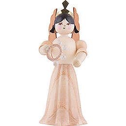 Angel with Tambourine  -  7cm / 2.8 inch