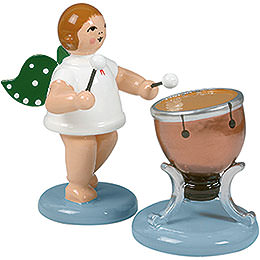 Angel with Timbal  -  6,5cm / 2.5 inch