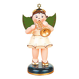 Angel with Trumpet  -  16cm / 6 inch