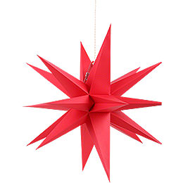 Annaberg Folded Star for Indoor Red  -  58cm / 22.8 inch