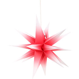 Annaberg Folded Star for Indoor Red - White  -  35cm / 13.8 inch