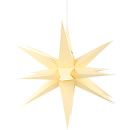 Annaberg Folded Star for Indoor Yellow  -  58cm / 22.8 inch