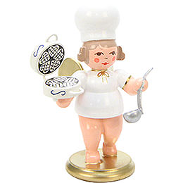 Baker Angel with Waffle Iron  -  7,5cm / 3 inch