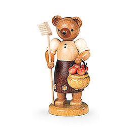 Bear Gardener (female)  -  10cm / 4 inch