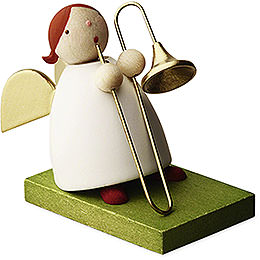 Big Band Guardian Angel with Trombone  -  3,5cm / 1.3 inch