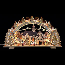 Candle Arch  -  Christmas Time  -  72x41x7cm / 28.3x16.1x2.8 inch