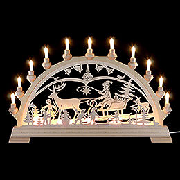 Candle Arch  -  Christmascountry  -  65x40cm/26x16 inch