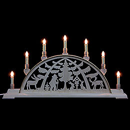 Candle Arch  -  Forest Scene  -  63x32cm / 25x13 inch
