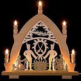 Candle Arch  -  Miner  -  41x42cm / 16.1x16.5 inch