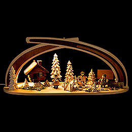 Candle Arch  -  Solid Wood at the Creek  -  59x30cm / 23x11.8 inch