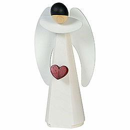 Figurine Angel with Heart  -  11cm / 4 inch