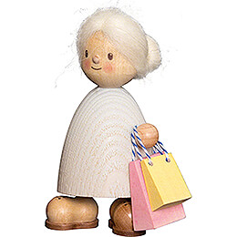 Finja with Bags  -  9cm / 3.5 inch