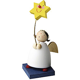 Guardian Angel with Star on Stick  -  3,5cm / 1.3 inch