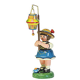 Lampion Girl with a Conical Lampion  -  8cm / 3 inch