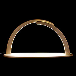 Modern Light Arch  -  without Figurines  -  70x37cm / 27.6x14.6 inch