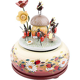 Music Box Beetle Orchestra  -  15cm / 6 inch