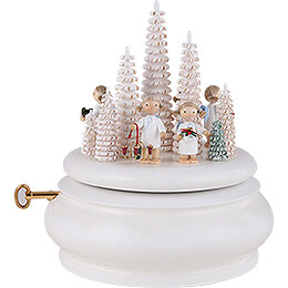 "Music Box ""White Christmas""  -  15cm / 5.9 inch"