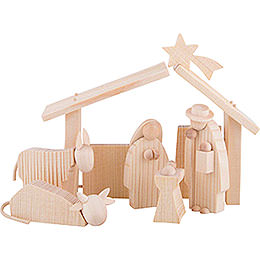 Nativity Set  -  8cm / 3.1 inch