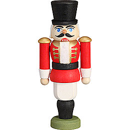 Nutcracker  -  Hussar Red  -  9cm / 3.5 inch