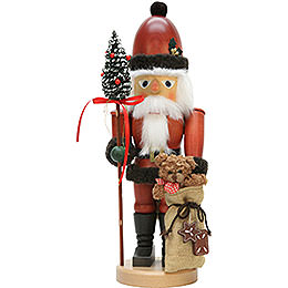 Nutcracker  -  Santa Claus with Teddy  -  44,5cm / 18 inch