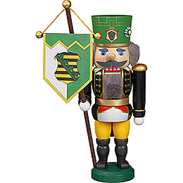 Nutcracker -  Saxon Miner with Ancient  -  25cm / 9.8 inch