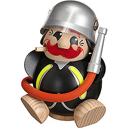 Smoker  -  Fireman  -  Ball Figure  -  12cm / 5 inch