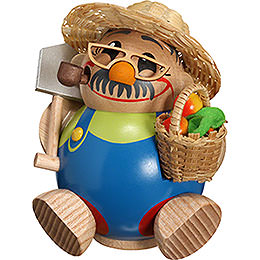 Smoker  -  Gardener  -  Ball Figure  -  11cm / 4 inch