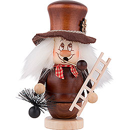 Smoker  -  Gnome Chimney Sweeper  -  15cm / 6 inch