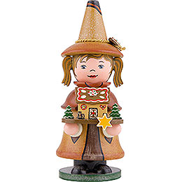 Smoker  -  Gnome Gingerbread House  -  14cm / 5.5 inch