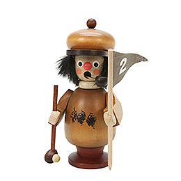 Smoker  -  Golfer Natural Colors  -  10,8cm / 4 inch