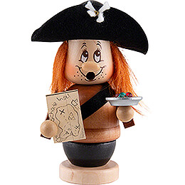 Smoker  -  Mini Gnome Pirat  -  14cm / 5.5 inch