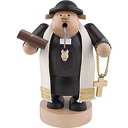 Smoker  -  Preacher with Bibel  -  19cm / 7 inch
