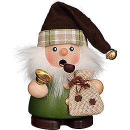 Smoker  -  Santa Claus Green  -  10,5cm / 4.1 inch