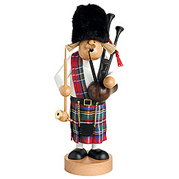 Smoker  -  Scotsman with Bagpipe  -  109cm / 43 inch