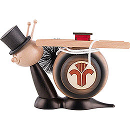 Smoker  -  Snail Sunny Chimney Sweep Snail  -  16cm / 6.3 inch