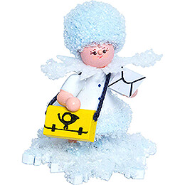 Snowflake Mail Carrier  -  5cm / 2 inch