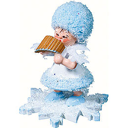 Snowflake with Panpipe  -  5cm / 2 inch
