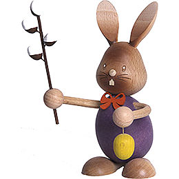 Snubby Bunny with Pussy Willow  -  12cm / 4.7 inch