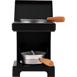Stool Cooker 'The Lil' One' Black  -  9cm / 3.5 inch
