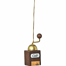 "Tree Ornament  -  ""Coffee Mill""  -  6cm / 2.4 inch"