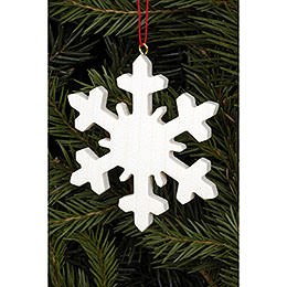 Tree Ornament  -  Icecrystal Natural  -  6,6x6,6cm / 2.6x2.6 inch