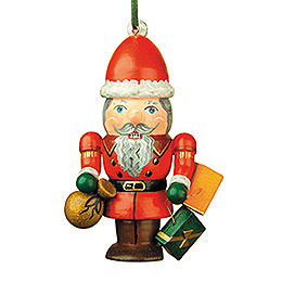 Tree Ornament  -  Nutcracker Santa  -  7cm / 3 inch