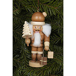 Tree Ornament  -  Santa Claus Natural  -  10cm / 4 inch