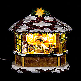 Winter Children Christmas Post Office  -  10cm / 3.9 inch