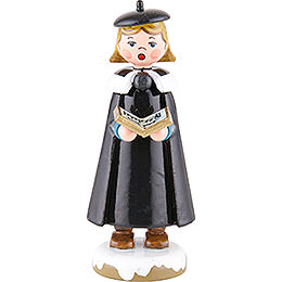 Winter Children Church Singers with Book  -  8cm / 3 inch